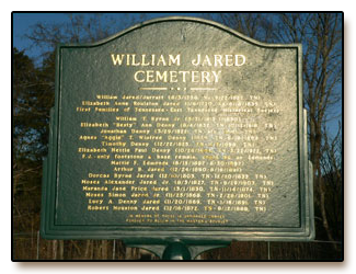 Captain William Jared Cemetery